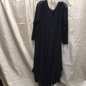 Comfy USA sheer flowy dress size XL NWT
